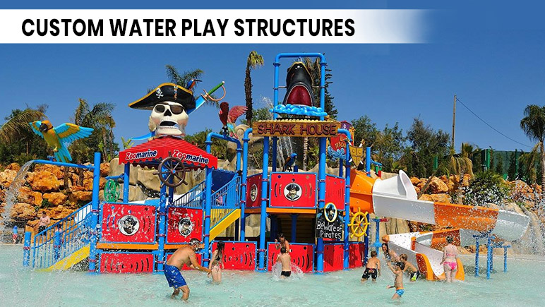 Custom-Water-play-structures