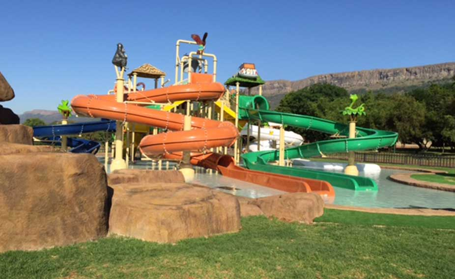 Magalis water park, South Africa