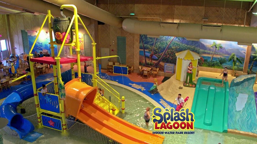 Why are indoor water parks getting so popular ?